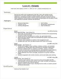 resume on customer service food service resume 2017 free resume builder psycle info
