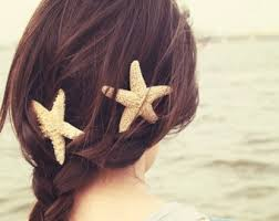 starfish hair clip starfish clip many interesting cliparts
