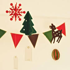 Diy Deer Christmas Decorations by Felt Christmas Decor Felt 3d Felt Decorations Diy Banner Flag