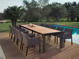 all weather dining table alchemy teak dining table couture outdoor
