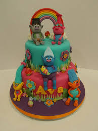trolls cake cakes pinterest cake troll party and birthdays