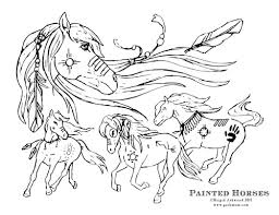 printable fun u2013 horse craft coloring