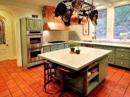 kitchen cozy warm green kitchen cabinet with granite countertop