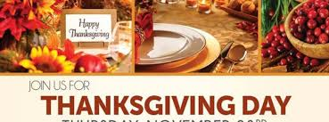 join us for our thanksgiving day chagne buffet ta fl nov