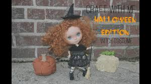 halloween witch hat craft craft with me halloween edition blythe witch hat dress