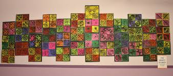 fulton sunshine academy art lab 4th grade rotational symmetry