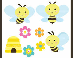 bee clipart happy bug clipart
