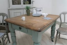 distressed kitchen table u2013 home design and decorating