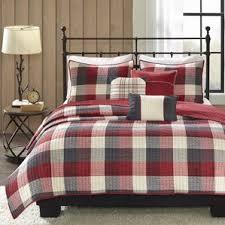 red buffalo check bedding wayfair