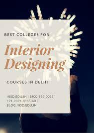 Interior Design Courses In India by Best College For Interior Design