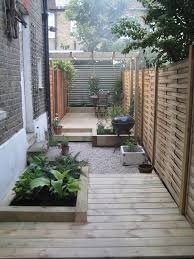 Small Backyard Landscaping Ideas Best 25 Narrow Garden Ideas On Pinterest Small Narrow Garden