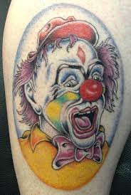 12 best clown tattoo images on pinterest searching carnival and