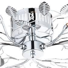 Wohnzimmerlampe Baum Deckenleuchte Deckenlampe Chrom Design Wohnzimmerlampe Lampe