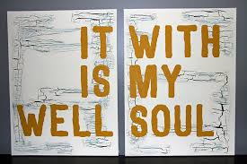 Christian Home Decorations Amazon Com It Is Well With My Soul Canvases Christian Home