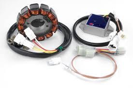 trail tech 100 watt high output dc electrical system for yamaha