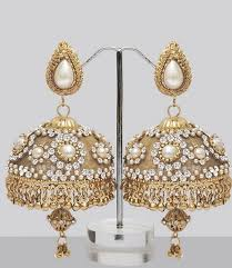 punjabi jhumka earrings 259 best indian jewelry images on indian jewelry