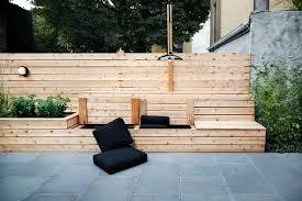 built in storage bench houzz