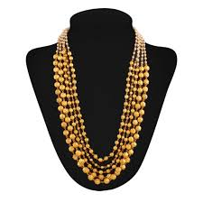 necklace pictures images Buy masterclass gold plated contemporary necklace online jpg
