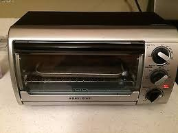 BLACK AND DECKER Toaster Oven £22 72
