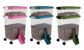 Food Storage Container Sets - 49 off on pet food container set 3 pc groupon goods