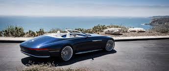 concept mercedes vision mercedes maybach 6 cabriolet luxury of the future