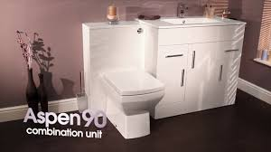 Bathroom Vanity Unit With Basin And Toilet Aspen 90cm Vanity Unit Wc 400mm Vanity Unit Wc And Basin