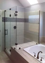 Diy Frameless Shower Doors 90 Degree Shower Enclosures Shower Doors Of Dallas
