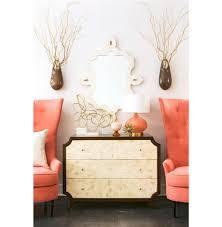 radiant burst hollywood regency cream bone inlay brown dresser