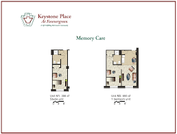 amenities floor plans keystone place at forever green transportation services innovative programming designed to engage residents in purposeful activities a secure setting with a private outdoor courtyard