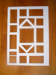 easy kids craft stain glass window possible shape idea for the