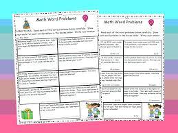all worksheets multi step fraction word problems worksheets