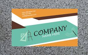 download customizable free business card template aca001