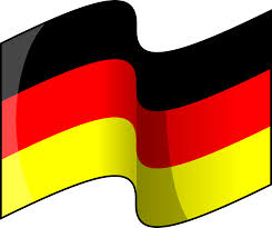 clipart flag of germany waving