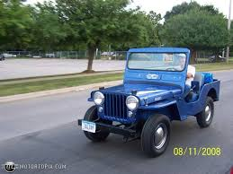 jeep open 1962 willys jeep dj3a open body id 20348