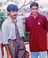 rare and unseen picture two biggest telugu stars pawan kalyan