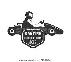 karting club kart races competition vector stock vector 609964340