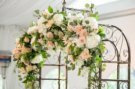 flower arch a s perspective planning a second wedding with flowers j