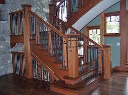 craftman style arts and craftsman style railings postville blacksmith shop