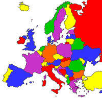 european countries on a map visited europe map create your own where i been in europe