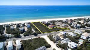 Seaside Florida Map by Florida Waterfront Property In Santa Rosa Beach Grayton Beach