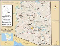 map az arizona map map of arizona detailed az throughout az az map