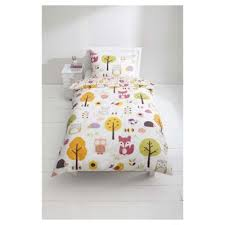 Tesco Bedding Duvet Buy Tesco Kids 100 Cotton Woodland Print Duvet Cover Set Single