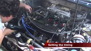 1989 honda accord engine 1989 honda accord revival day 5 setting the timing changing