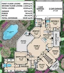 mediterranean mansion floor plans plan 36427tx mediterranean mansion house plan mansion
