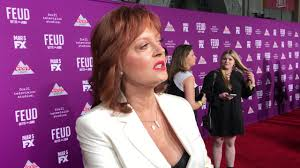 Betty Davis Daughter by Susan Sarandon U0027feud U0027 Dishes Role As Bette Davis Working With