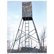 Deer Hunting Tower Blinds Swivelimb Deluxe 10 U0027 Tower Stand 294181 Tower U0026 Tripod Stands