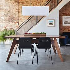 gus modern dining table gus modern furniture made simple hub modern home gift