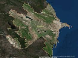 South America Satellite Map by Azerbaijan Satellite Maps Leaddog Consulting