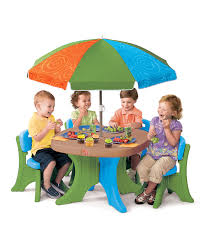 home design luxury kids patio set with umbrella outdoor
