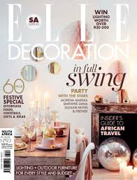 Interior Decorating Magazines South Africa by Elle Decoration South Africa December January 2014 Mediaslut